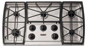 Superior KitchenAid : KGCS166GSS 36 Gas Cooktop   Stainless Steel