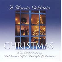 Marvin Goldstein Christmas: 2 CD set featuring The Greatest Gift & The Light of Christmas