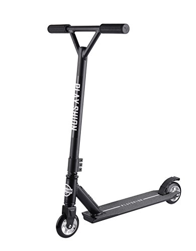 Playshion Pro Stunt Scooter with Alloy Core Wheels Black