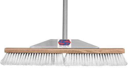 Super Sweep 24-Inch Gray Flagged Broom by Super Sweep Inc. (Image #2)