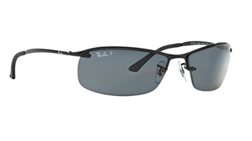 Ray-ban Grey Poalrized RB 3183 002/81 63mm Sunglasses + SD Glasses - 3183 Ban Ray