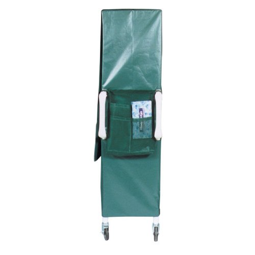 MJM International 322-MED Cart Accessory Bag, 22'' Height x 17.5'' Length, Royal Blue/Forest Green/Mauve