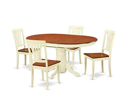 Deluxe Premium Collection 5-Piece Dining Table Set Decor Comfy Living Furniture ()