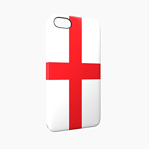 Flag of England Glossy Hard Snap-On Protective iPhone 5 / 5S / SE Case Cover