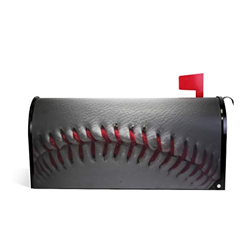 WOOR Baseball Lace Mailbox Cover Standard Size-18