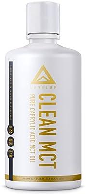 CLEAN MCT - 100% Pure C8 Caprylic Acid MCT Oil ? NON GMO ?