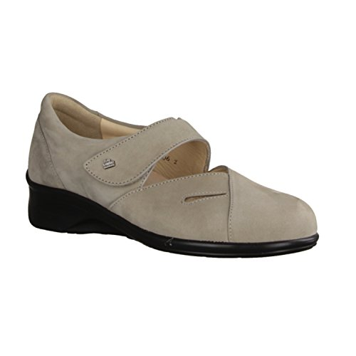 Finn Comfort Women's Loafer Flats Gray GREY JjHkrFeq
