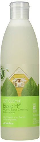 Basic H2 Organic Super Cleaning Concentrate 16oz 473mL Makes 48 Gallons by Shaklee