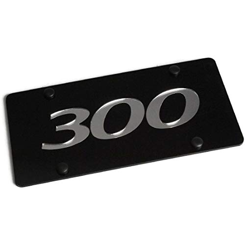 Eurosport Daytona Laser Acrylic Chrysler 300 O License Plate Frame 3D Novelty Tag Mopar Hemi