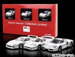 1/64 フェラーリ ミニカーコレクションリミテッド(3台セット) サークルKサンクス30周年記念