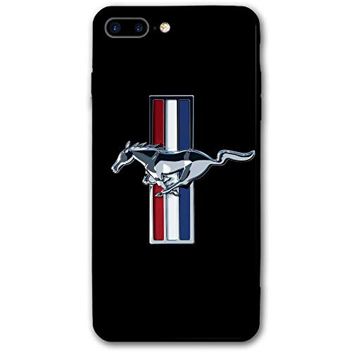 (Mustang Gt Logo iPhone 8 Plus Case Shockproof and Dustproof Protective Shell PC Material Cover Case 5.5 Inch)