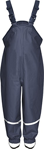 Playshoes Regenlatzhose Textilfutter 405514 Unisex - Kinder Hosen/ Lang, Gr. 98 Blau (marine 11)