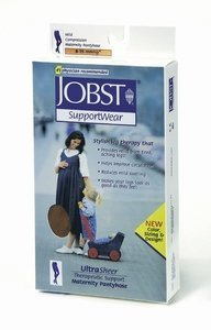 Jobst 20-30mmHg Maternity Pantyhose Silky Beige Medium - 121536 by BSN