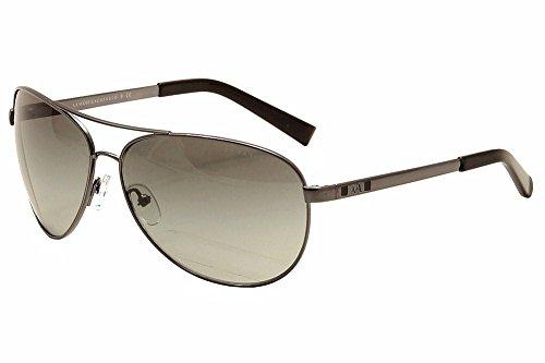 Armani Exchange AX 2006 Unisex Sunglasses Gunmetal / Black - 2006 Sunglasses
