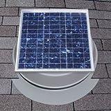 Solar Attic Fan 36-watt with 25-Year Warranty - Florida Rated