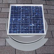 Solar Attic Fan 36-watt with 25-Year Warranty - Florida Rated