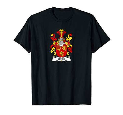 Jones Coat of Arms - Family Crest Shirt