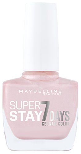 Maybelline Forever Strong Super Stay 7 Days Gel Nail Colour (Porcelain 78) 10 ml (7 Day Nail Polish)