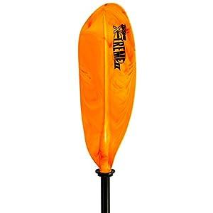SeaSense X-TREME II Kayak Paddle, 96-Inch, Orange and Yellow,Orange/Yellow