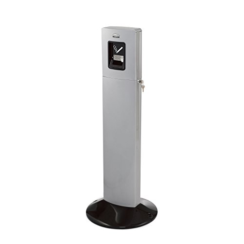Smokers Urn (Rubbermaid Commercial Products FGR93400SM Metropolitan Smokers' Station, Silver)