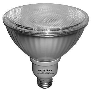 Earthbulb® 23 W 5000K PAR38 Flat Compact Florescent Floodlight; Natural White