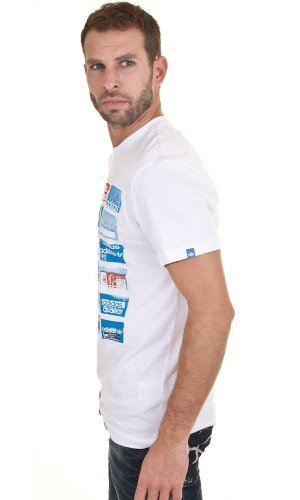 adidas - Camiseta - para hombre Blanco - blanco