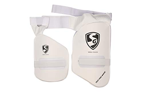 SG Combo Test Pro White RH Thigh Pad – NO. 1 Thigh Pad