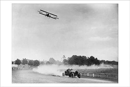 Oldfield Racing Aviator Lincoln Beachey 16x24-inch Wall Decal ()