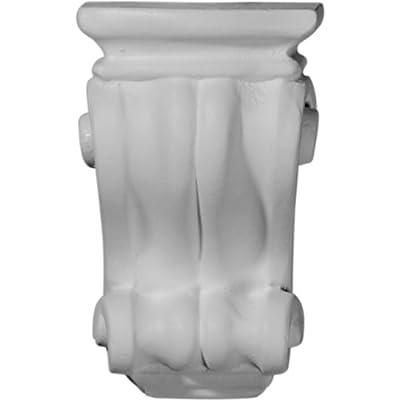 Ekena Millwork COR03X03X06CO 3 1/8-Inch W x 3-Inch D x 5 1/4-Inch H Traditional Cole Pilaster Corbel