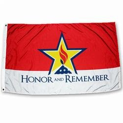 Honor And Remember Flag 3 FT. x 5 FT.
