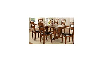 0772c91e97 Amazon.com - Winners Only, Inc. Mango 92 in. Trestle Dining Table ...