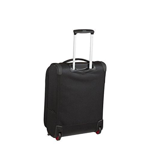 DELSEY AIR ADVENTURE SOFT2 Koffer, 54 cm, 42 liters, Schwarz (Noir)