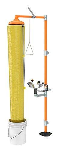 Guardian AP250-005, Emergency Shower Test Chute Kit, with Pail, 1 per Each ()