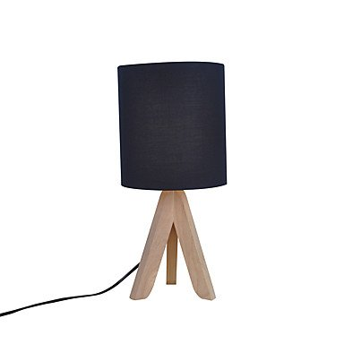 Lámpara de mesa contemporánea Tulipa de tela: Amazon.es: Iluminación