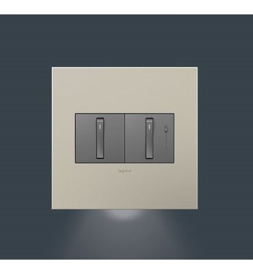 adorne 2-Gang Wall Plate Accent (Accent Night Light)