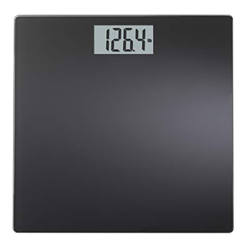 InstaTrack Large Display Digital Bathroom Scale with Step-On Technology in black, Accurately Measures up to 400 Pounds reviews