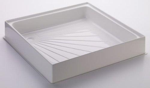 traymate tm25 600mmx600mm resin stone shower tray ebay. Black Bedroom Furniture Sets. Home Design Ideas