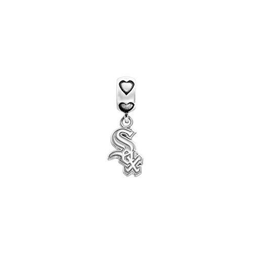 MLB Chicago White Sox S/S CHICAGO WHITE SOX LOGO CHARM 1/2