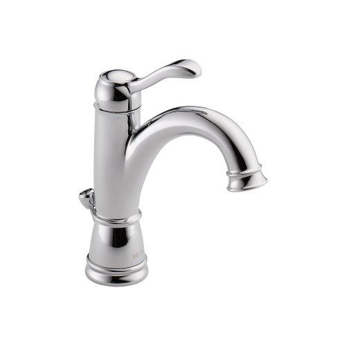 (Delta 15984LF Porter Single Handle Centerset Bathroom Faucet, Chrome)