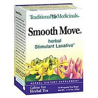 Herb Tea, Smooth Move, 16 bag ( Value Bulk Multi-pack) by Traditional Medicinals