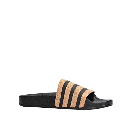 de Piscina Playa Adilette Zapatos y Negro para Adidas Mujer W tFqt7