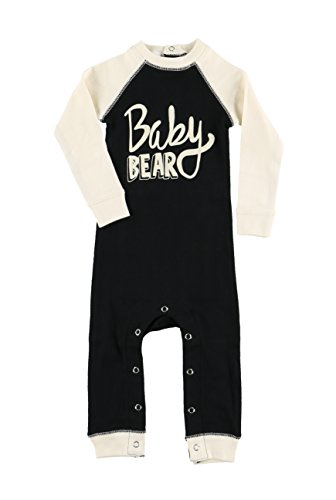 Lazy One Baby Flapjack Bodysuit (6 Months, Baby Bear Infant Flapjack)