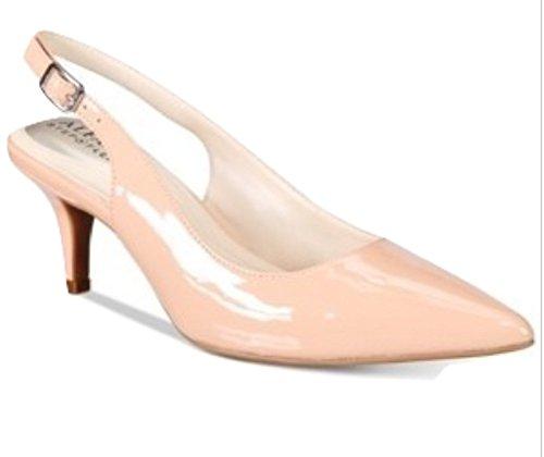 Alfani Womens Babbsy Pointed Toe Slingback Classic Pumps, Blush, Size 9.0 - Alfani Slingback