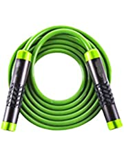 BESPORTBLE Weighted Skipping Rope, Adustable Handle Jump Rope Aluminium Crossfit Speed Rope voor volwassenen (rood)