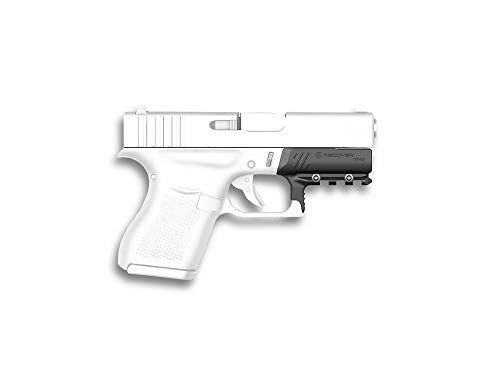 (Recover Tactical GR43 Picatinny Rail for The Glock 43, 43X, 48- Easy Installation, No Modifications Required to Your Firearm, no Need for a Gunsmith. Installs in Under 3 Minutes)