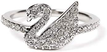 スワン 白鳥 リング 指輪 クリスタル レディース [sw5215040] [並行輸入品]