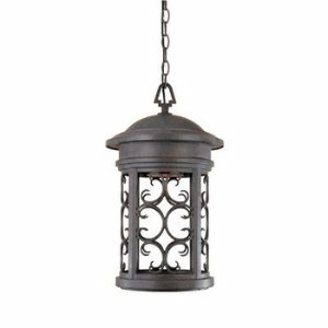 Designers Fountain 31134-MP Ellington-DS Hanging Lanterns, Mediterranean Patina Patina Outdoor Fixture