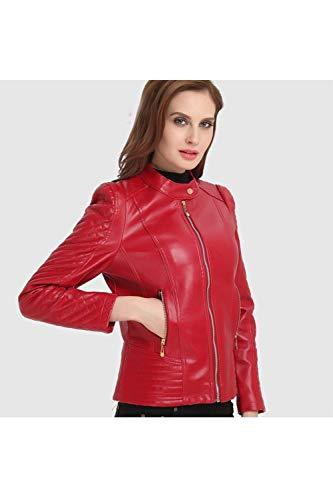 Taglie Forti Giacca Abbigliamento Fashion Outerwear Eleganti Rosso x4wtRBt