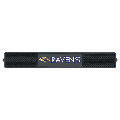 FANMATS NFL Baltimore Ravens Vinyl Drink Mat -