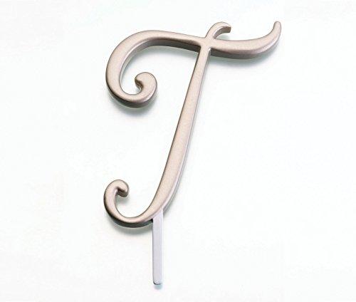 Lillian Rose Monogram Cake Topper Letter T ()